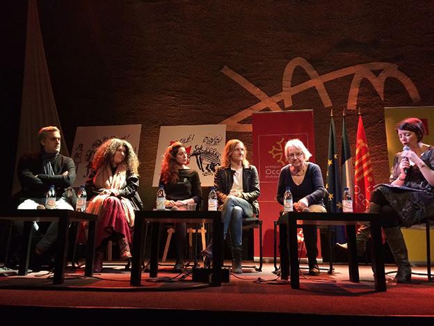 Rencontr'Elles Occitanie, table ronde Jam avec la présence de Hélène Morsly.